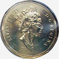 1 dollar 2003 - Ancien effigie
